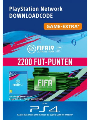 2200 FIFA Punten PS4 - FIFA Points PlayStation Nederland (NL)