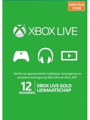 XBOX Live Gold 12 Maanden - Digitale Code - EU