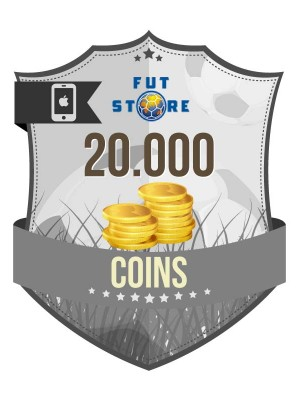 20.000 FIFA 17 Coins iOS (2 spelers)