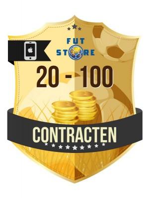 Contracten Verkopen Op iOS FIFA 17