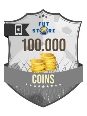 100.000 FIFA 17 Coins iOS (10 spelers)