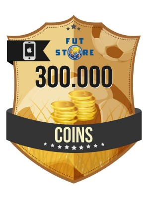 300.000 FIFA 17 Coins iOS (30 spelers)