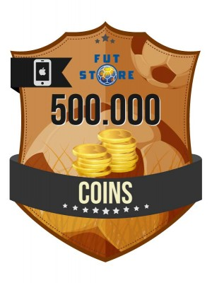 500.000 FIFA 17 Coins iOS (50 spelers)
