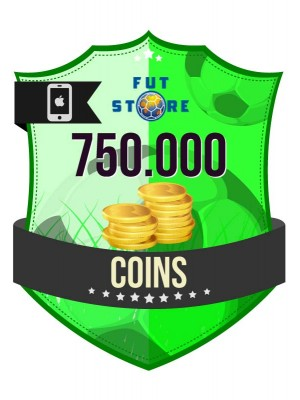 750.000 FIFA 17 Coins iOS (75 spelers)