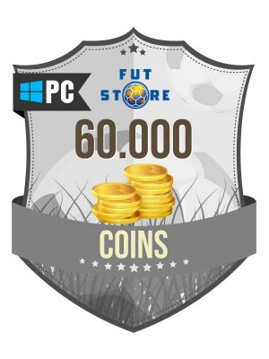 60.000 FIFA 17 Coins PC / Origin (6 spelers)