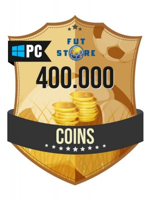 400.000 FIFA 17 Coins PC / Origin (40 spelers)