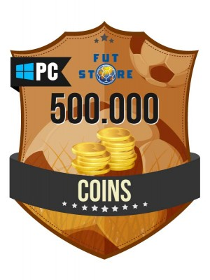 500.000 FIFA 17 Coins PC / Origin (50 spelers)