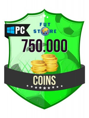 750.000 FIFA 17 Coins PC / Origin (75 spelers)