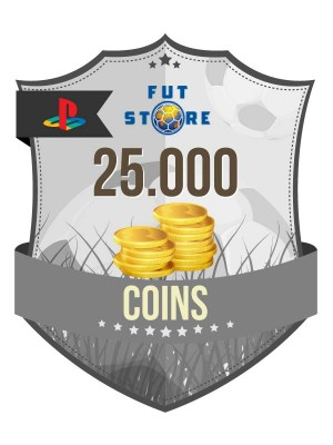 25.000 FUT Coins PS3 - FIFA15 (5 spelers)