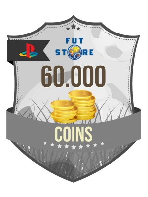 60.000 FIFA 17 Coins PS3 - Playstation 3 (6 spelers)