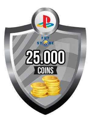 25.000 FUT Coins PS4 - FIFA15 (5 spelers)