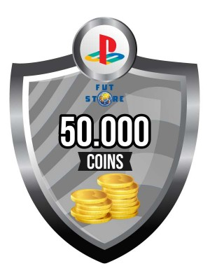 50.000 FIFA 17 Coins PS4 - Playstation 4 (5 spelers)