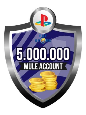 5.000.000 - 9M FUT 17 Coins PS4 - FIFA17 (MULE ACCOUNT)