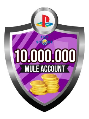 10.000.000 - 14M FUT 20 Coins PS4 - FIFA20 (MULE ACCOUNT)