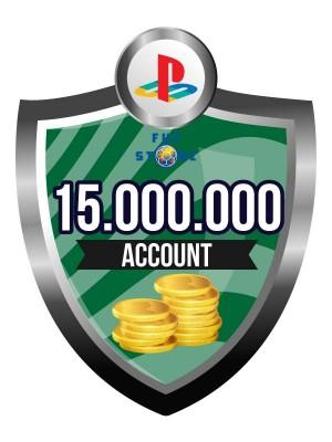 15.000.000 - 19M FIFA 15 Coins PS4 - Playstation 4 (ACCOUNT)
