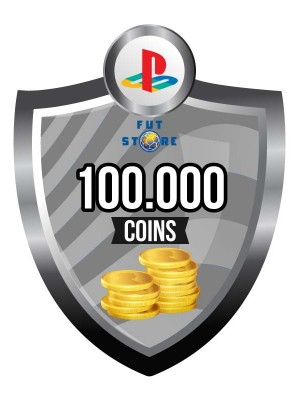 100.000 FIFA 17 Coins PS4 - Playstation 4 (10 spelers)