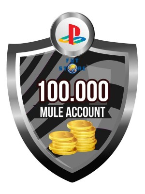 100.000 - 900K FUT 18 Coins PS4 - FIFA18 (MULE ACCOUNT)