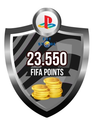 23.550 FIFA Points - Punten PS4 (Account)