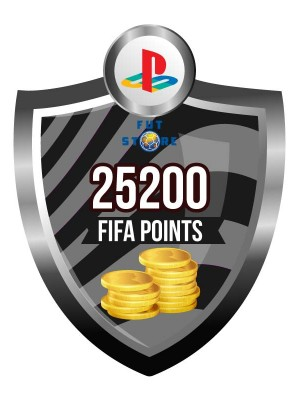 25.200 FIFA Points - Punten PS4 (Account)
