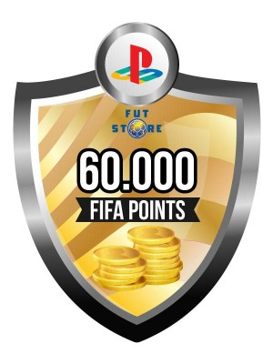 60.000 FIFA Points - Punten PS4 (Account)