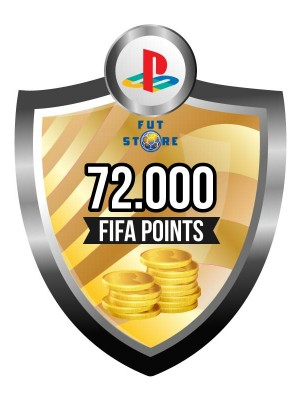 72.000 FIFA Points - Punten PS4 (Account)