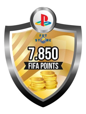7.850 FIFA Points - Punten PS4 (Account)