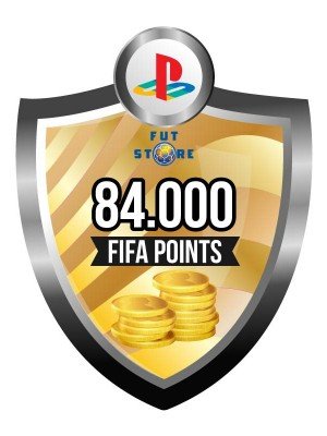 84.000 FIFA Points - Punten PS4 (Account)