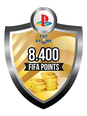 8.400 FIFA Points - Punten PS4 (Account)