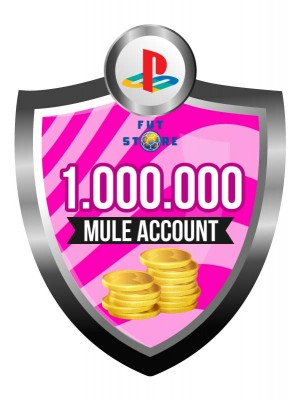 1.000.000 - 4M FUT 20 Coins PS4 - FIFA20 (MULE ACCOUNT)