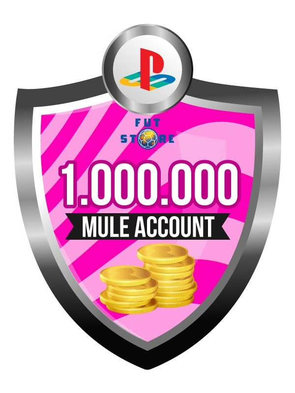 1.000.000 - 4M FUT 18 Coins PS4 - FIFA18 (MULE ACCOUNT)
