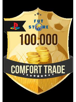 100.000 FIFA 21 Coins PS4 - (VEILIG - ACCOUNT BIJVULLEN, COMFORT TRADE)