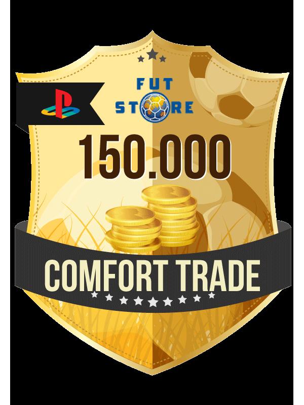 150.000 FIFA 21 Coins PS4 - (ACCOUNT BIJVULLEN, COMFORT TRADE)