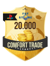 20.000 FIFA 20 Coins PS4 (VEILIG - ACCOUNT BIJVULLEN, COMFORT TRADE)