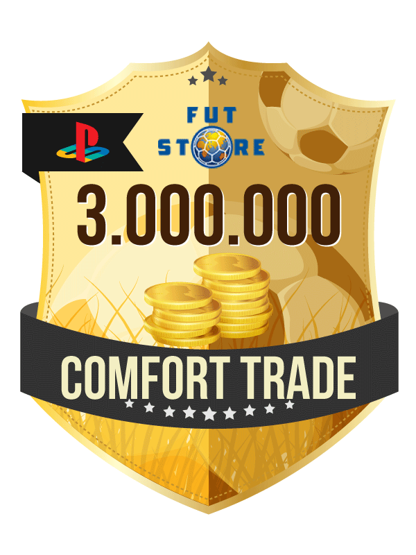 3.000.000 FIFA 21 Coins PS4 - (ACCOUNT BIJVULLEN, COMFORT TRADE)