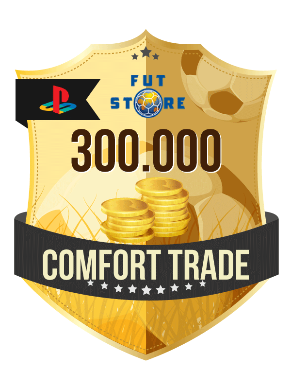 300.000 FIFA 21 Coins PS4 - (VEILIG - ACCOUNT BIJVULLEN, COMFORT TRADE)