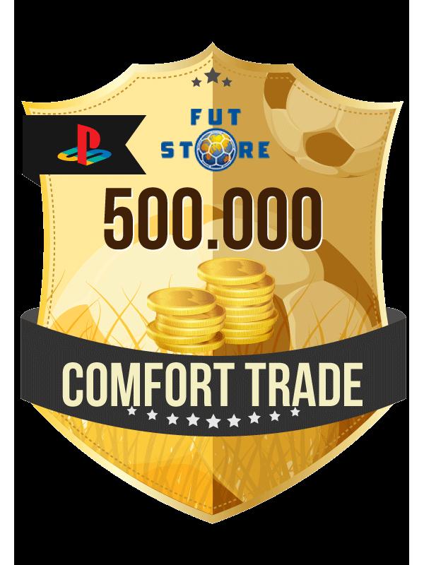 500.000 FIFA 21 Coins PS4 - (VEILIG - ACCOUNT BIJVULLEN, COMFORT TRADE)