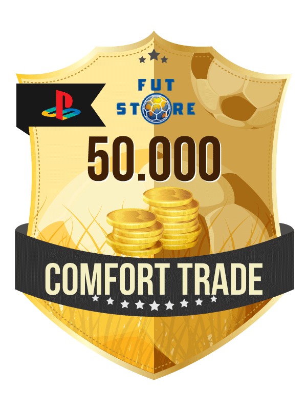 50.000 FIFA 21 Coins PS4 (ACCOUNT BIJVULLEN, COMFORT TRADE)