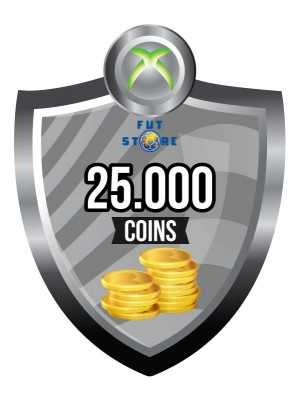 25.000 FUT Coins XBOX ONE - FIFA15 (5 spelers)