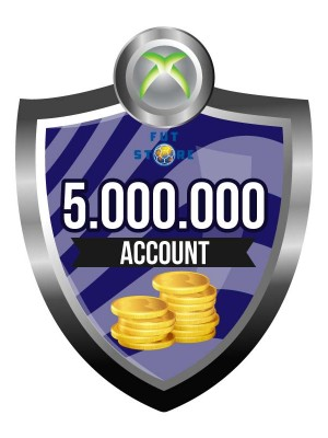 5.000.000 - 9M FUT 18 Coins XBOX One - FIFA18 (MULE ACCOUNT)