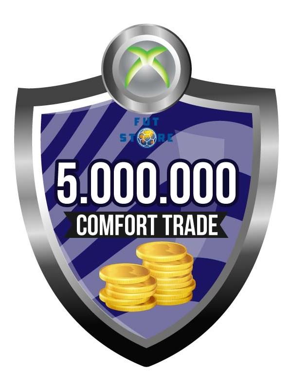 5.000.000 - 9M FUT 19 Coins XBOX One - FIFA19 (ACCOUNT BIJVULLEN, COMFORT TRADE)