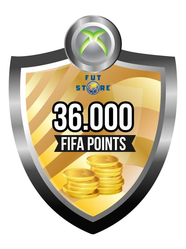 36.000 FIFA Points - Punten XBOX One (Account)