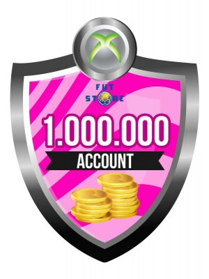 1.000.000 - 4M FUT 17 Coins XBOX One - FIFA17 (MULE ACCOUNT)