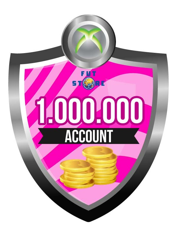100.000 - 900K FUT 17 Coins XBOX One - FIFA17 (MULE ACCOUNT)