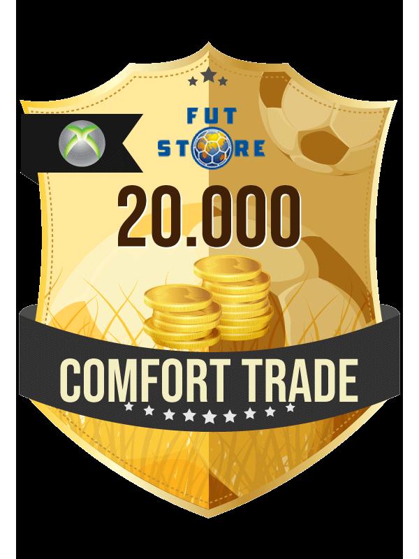 20.000 FIFA 21 Coins XBOX One (ACCOUNT BIJVULLEN, COMFORT TRADE)