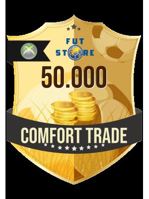50.000 FIFA 21 Coins XBOX One (VEILIG - ACCOUNT BIJVULLEN, COMFORT TRADE)