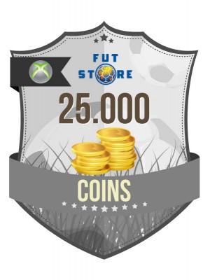 25.000 FUT Coins XBOX 360 - FIFA15 (5 spelers)