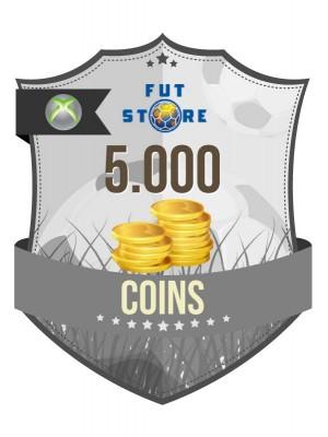 5.000 FIFA 17 Coins XBOX 360 (1 speler)