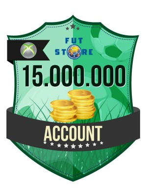 15.000.000 FUT 15 Coins XBOX 360 - FIFA15 (ACCOUNT)