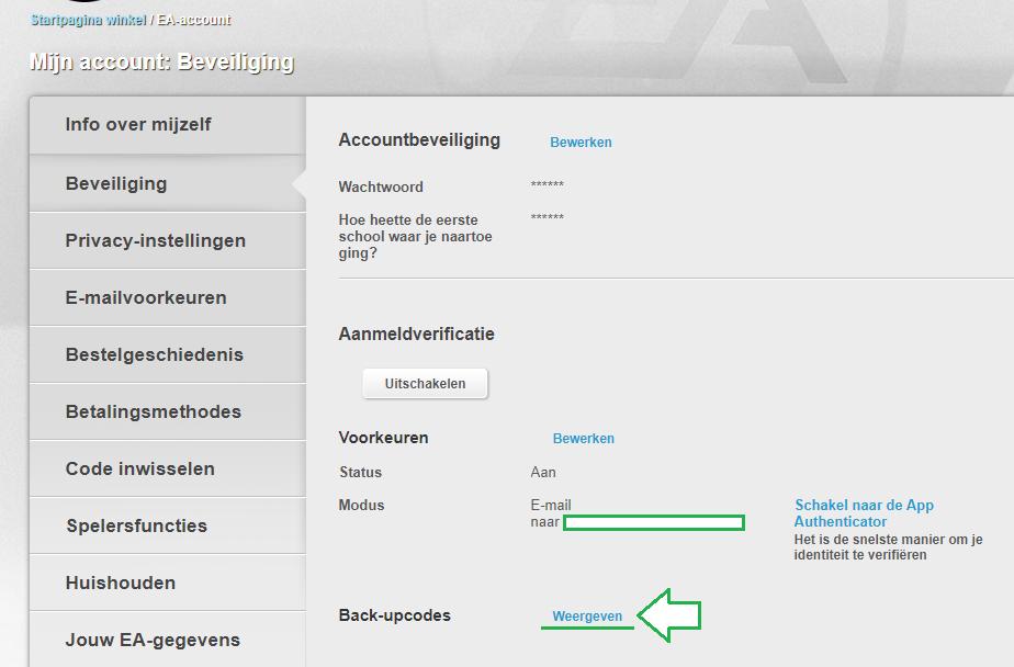 backupcodes-weergeven-futstore-ea-origin-fut-account